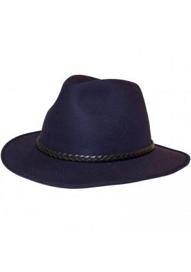 Sombrero Verano Trenza De Cuero