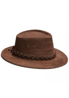 Sombrero Ante Trenza Cuero M8607A