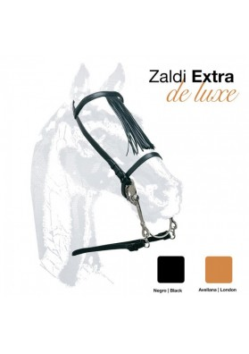 Cabezada Vaquera Zaldi Extra Deluxe