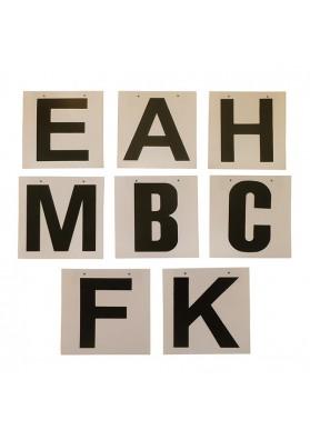 Juego De Letras Para Atornillar A B C E F H K M