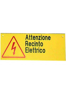 Placa De Signalacion Corral Electrico