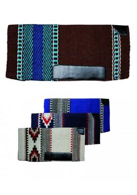 Mantilla Natowa De Estilo Navajo, En Lana