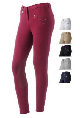 Pantalon Daslo De Mujer En Algodon Elastico