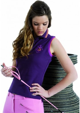 Polo Mujer Sin Mangas