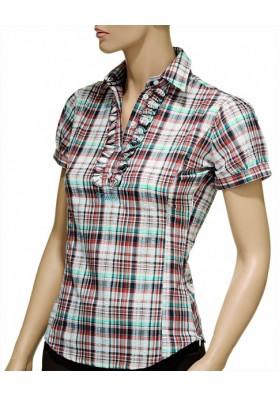 Camiseta Tattini Mujer Escoceses + Ruches