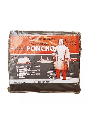 Poncho De Vinilo