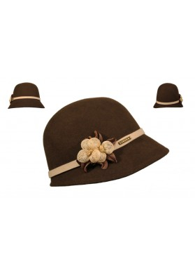 Cloche Lana Impermeable Crushable Flor