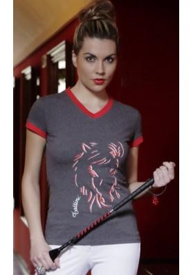 Camisa Tattini Con Imagen Caballo Mujer