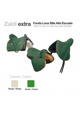 Funda Lona Zaldi Extra Alta Escuela