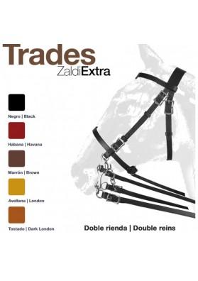 Cabezada Zaldi Extra Trades Doble Rienda