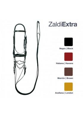 Cabezada Zaldi Extra Doble Rienda Nº 125