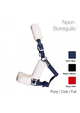 Cabezada Cuadra Nylon Borreguillo 1284