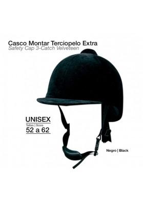 Casco Montar Terciopelo Extra 3/P9203