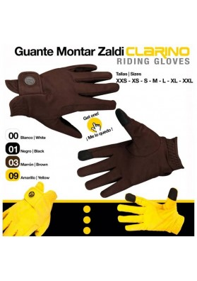 Guante Montar Clarino GL001390