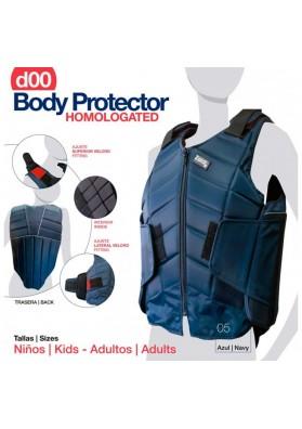 PROTECTOR BODY HOMOLOGADO D00 AZUL