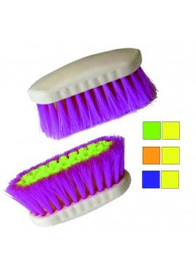 Cepillo Bicolor Fibra Sintetica Fluorescente,