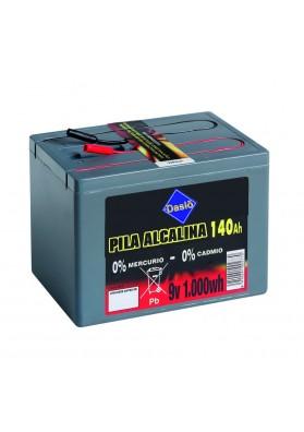 Bateria Daslo Alcalina 9V 1000Wh