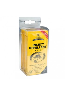Clinex Repelente De Insectos (Insect Repellent Wipe) . Envase