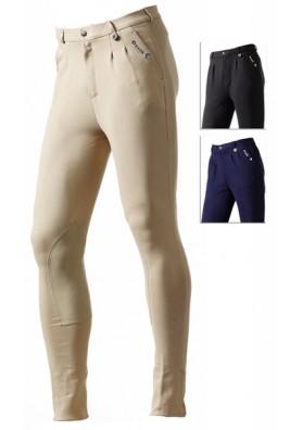 Pantalon Daslo De Hombre En Algodon Elastico