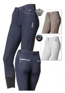Pantalones Tattini Dafne Microfibra + Brillant