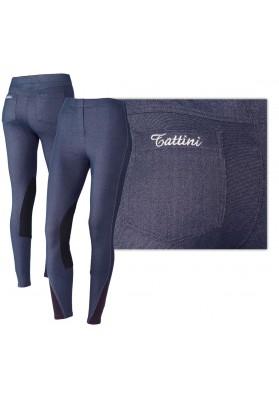 Pantalon Leggings Tattini De Mujer Tejido Vaqueros